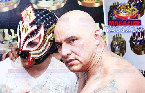 "against Alberto Del Rio. He wrestled under the name ""Carlos Sanchez""."