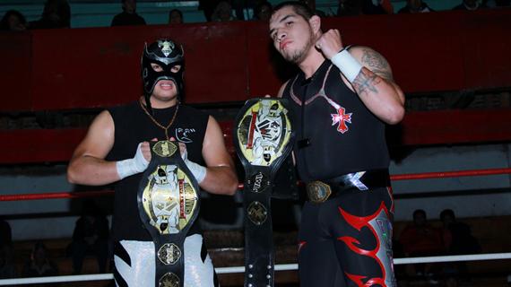 Luchadores Los Porros Titles Los Porros Angel