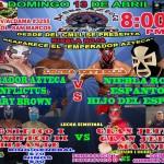 Arena Azteca 4/13/14