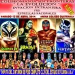 Arena Coliseo Guatemala 4/12/14