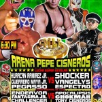Arena Pepe Cisneros 4/13/14