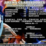 Arena Gladiadores 8/31/14
