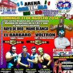 Arena Guatemala Mexico 8/31/14