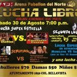 Arena Pabellon Del Norte 8/30/14