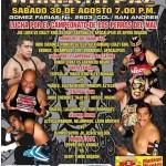 Arena Roberto Paz 8/30/14