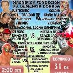 Coliseo Coacalco 8/31/14