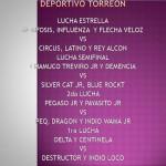 Deportivo Torreon 8/31/14