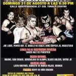 Nueva Arena Tonala 8/31/14